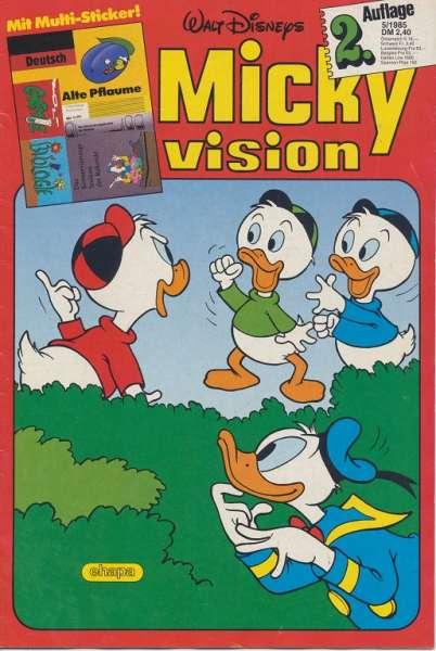 Mickyvision 2.Auflage Heft Nr. 5/1985