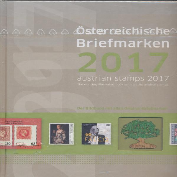 Marken Jahrbuch der Post 2017 Österreich