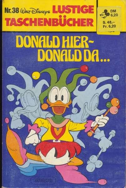 LTB Band 038 Donald hier Donald da...eckiges Logo Nummer oben