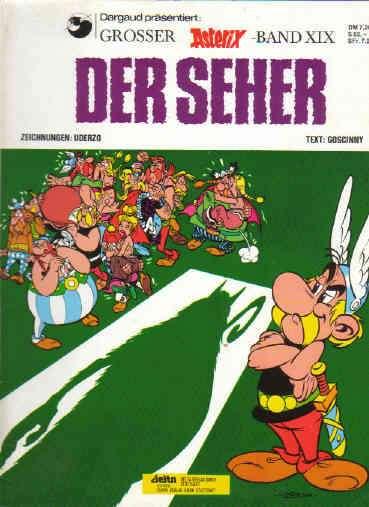Asterix Band Nr 19 XIX Asterix Der Seher
