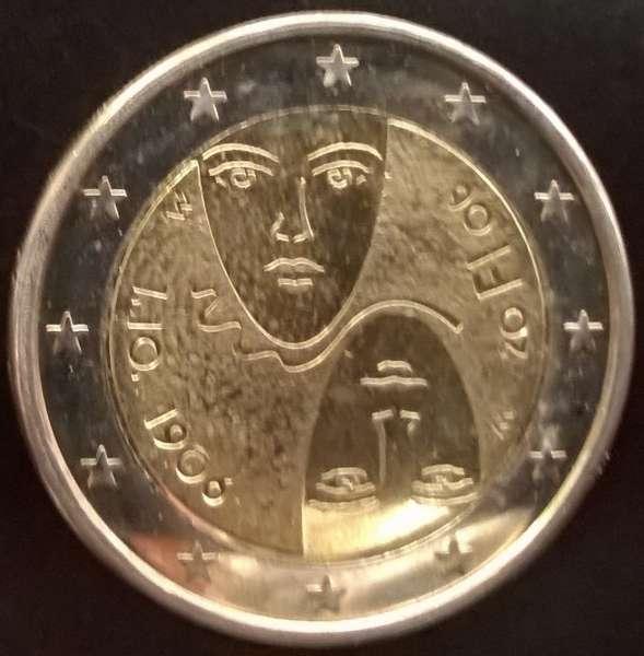 2 Euro Finnland 2006 100 Jahre Wahlrecht