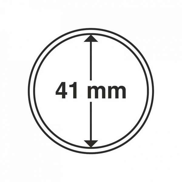 MÜNZKAPSELN CAPS 41 MM, 10 ER PACK