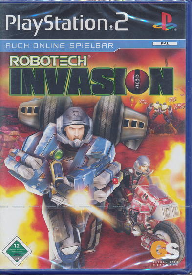 Ps 2 Spiel Robotech Invasion Neu