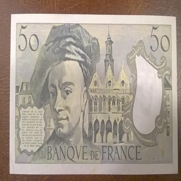 50 Francs 1988