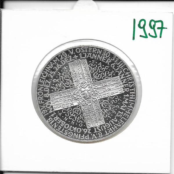 1997 Kalendermedaille Jahresregent Silber