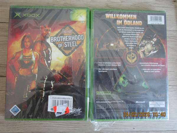 XBox Spiel Brotherhood of Steel Neu