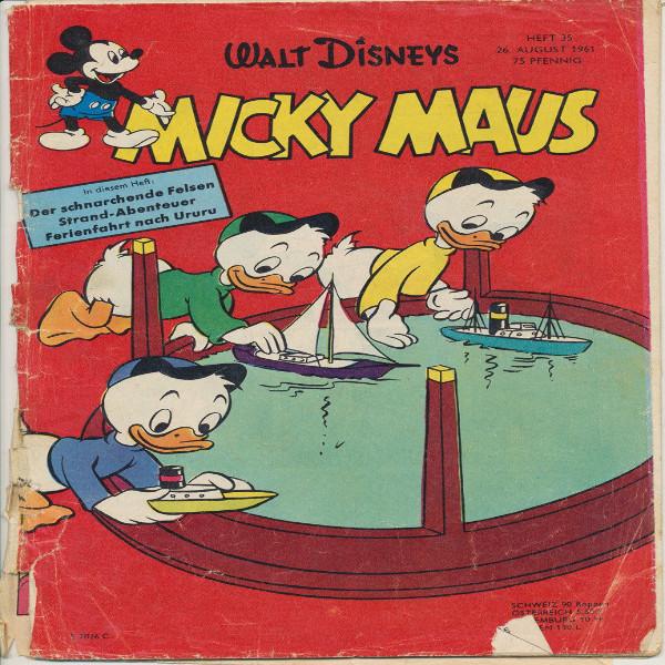 Micky Maus Nr.35/1961