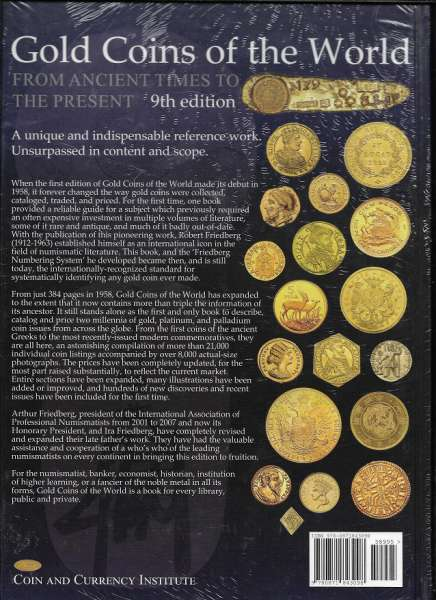 Gold Coins of the World From Ancient Times to the Present 9 th Edition