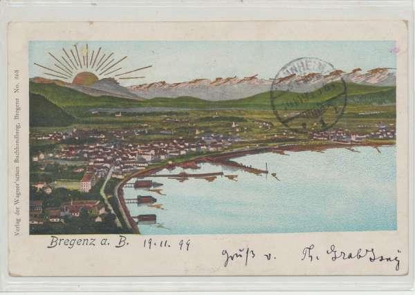 Bregenz am Bodensee 1899