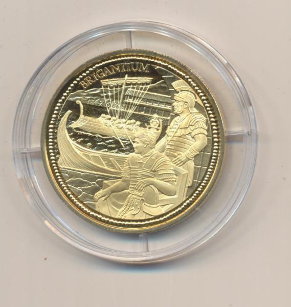 20 EURO Silber 2012 Brigantium Rom an der Donau 24 Karat Vergoldet