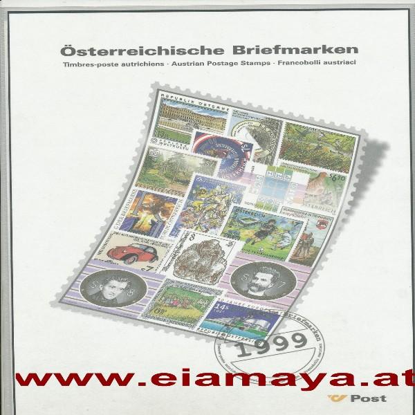 Jahreszusammenstellung der Post 1999