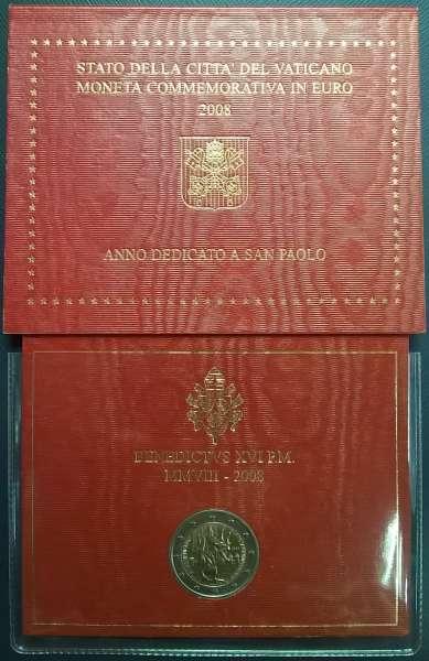 2 Euro Vatikan 2008 Paulusjahr