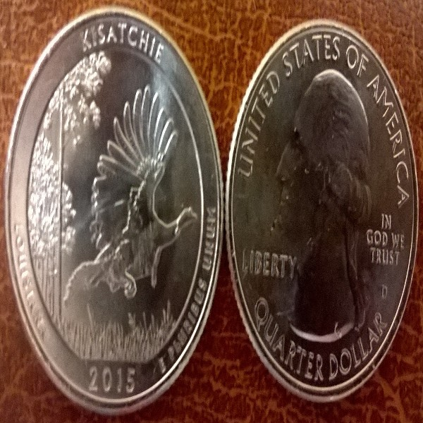 USA 25 Cent 2015 D Kisatchie (27)