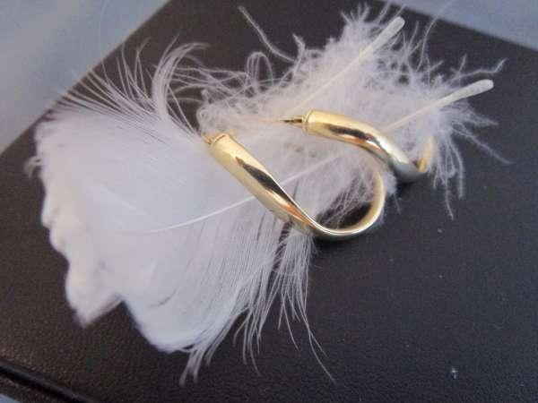 Creolen Ohrringe 2,5 Gramm Gold 585