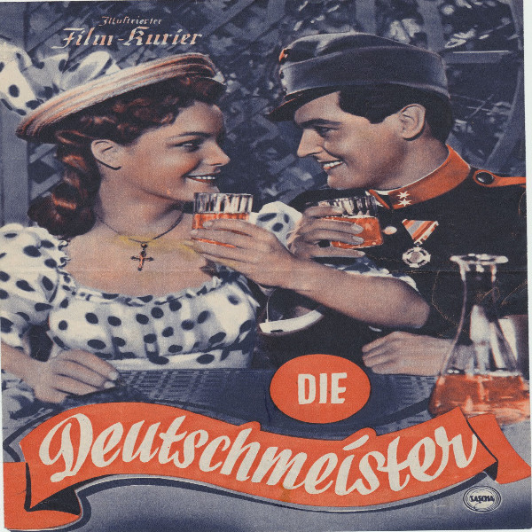 Illustrierter Film - Kurier Die DeutschmeisterNr 2304/1955