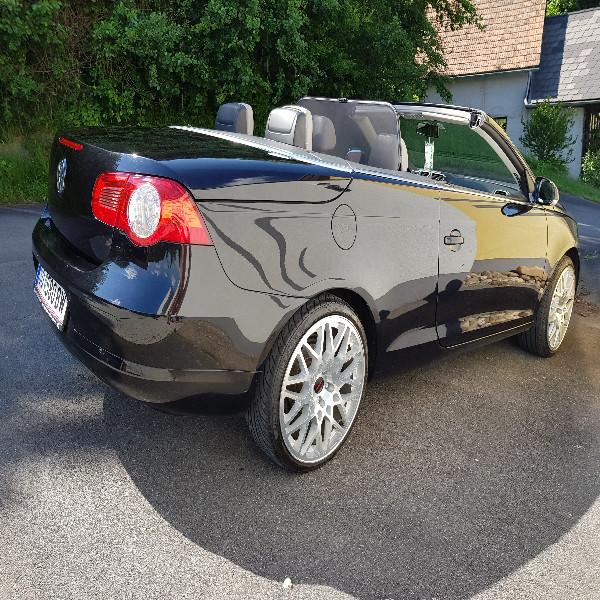 Vw Eos 2,0 Turbo Diesel Schwarz Cabrio
