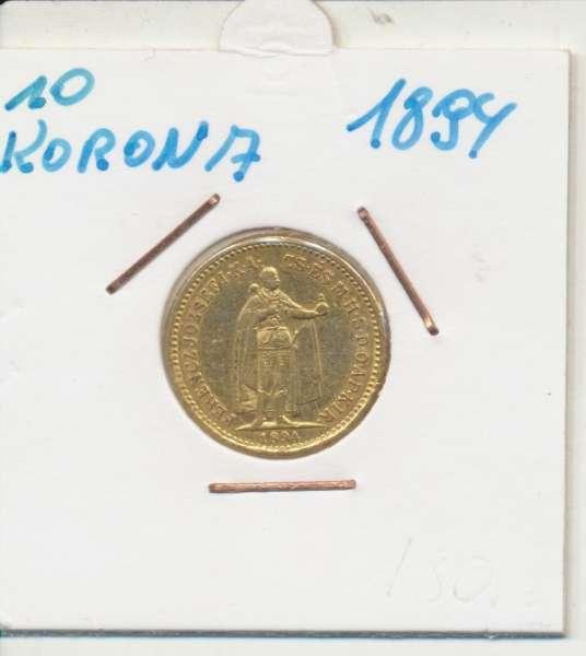 10 Korona 1894 KB Franz Joseph I Gold