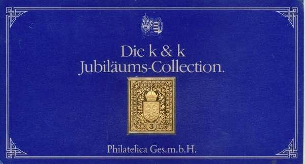 K&K Jubiläums Collection Silber Gold Österreich K&K Wappen und Krone 3 Kronen 1916