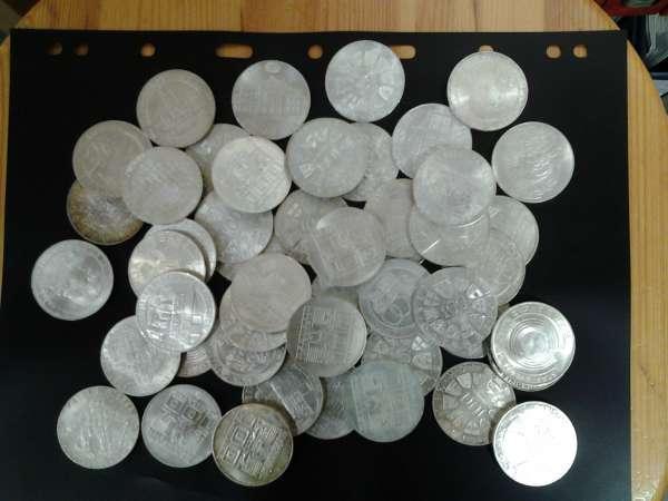 50 Stück 100 Schilling Silber 768gr.Feinsilber