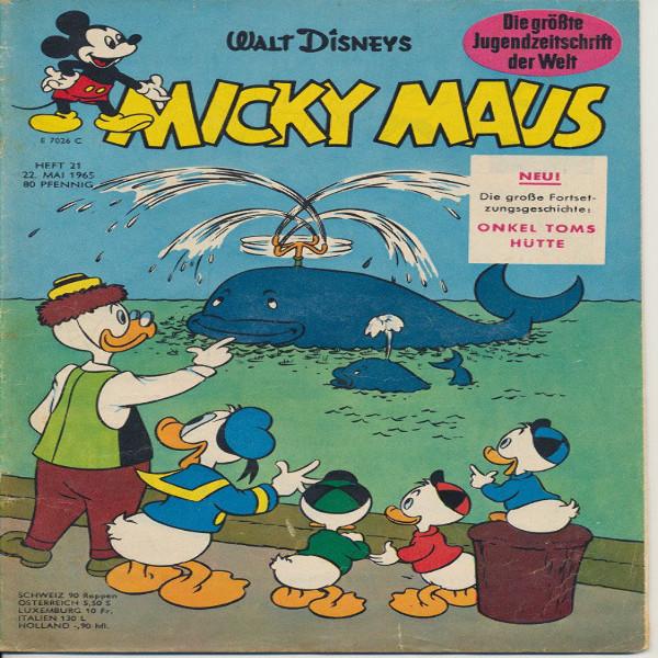 Micky Maus Nr. 21 /1965