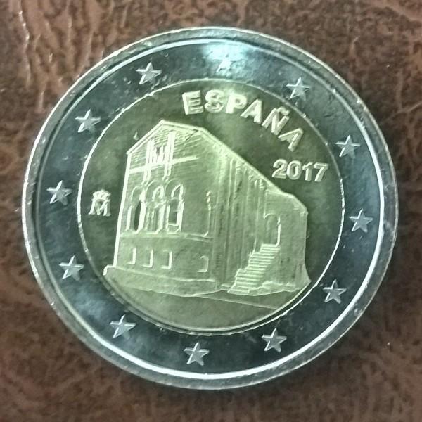 2 Euro Spanien 2017 Kirchen des Königreichs Asturien