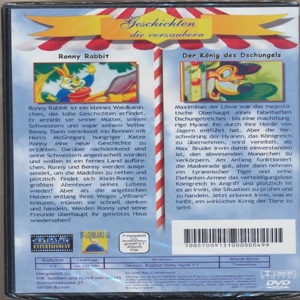 Geschichten die verzaubern Ronny Rabbit+Der König des Dschungels DVD