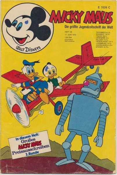 Micky Maus Nr. 25/1972