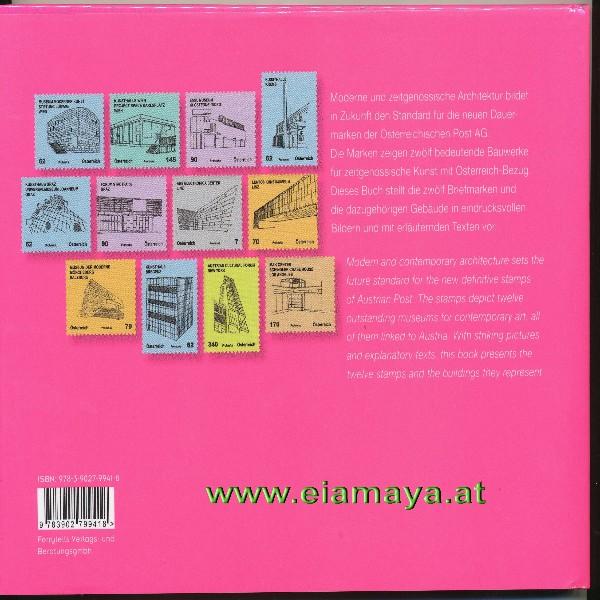 Briefmarkenbuch Kunstwerk Architektur mit 12 Briefmarken