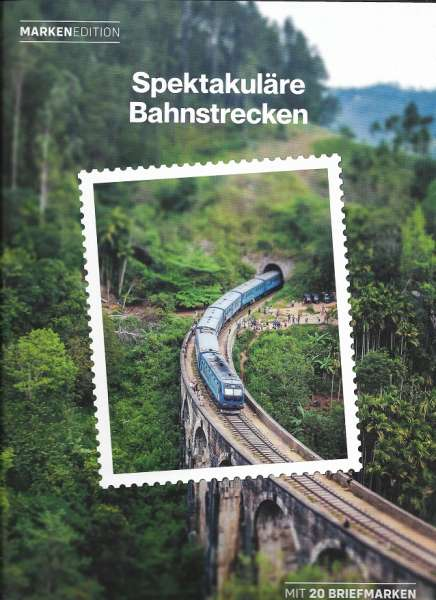 Spektakuläre Bahnstrecken Marken Edition 20