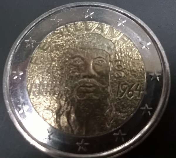 2 Euro Finnland 2013 Frans Eemil Sillanpää