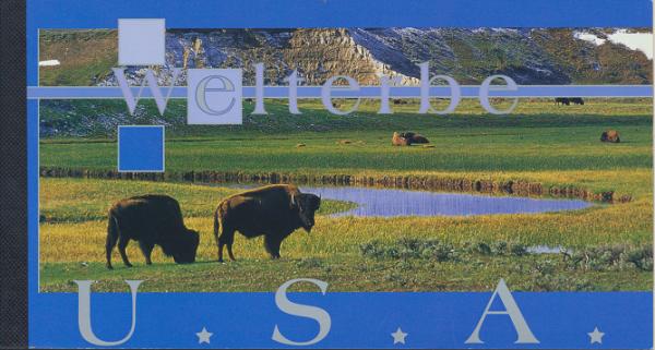 UNO Wien Markenheft Nr. 8 - Welterbe USA 2003 Gestempelt