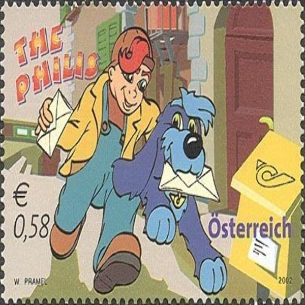 """ANK 2411 Sisco und Mauritius der Serie """"Die Philis"""" 0,58 € **"""