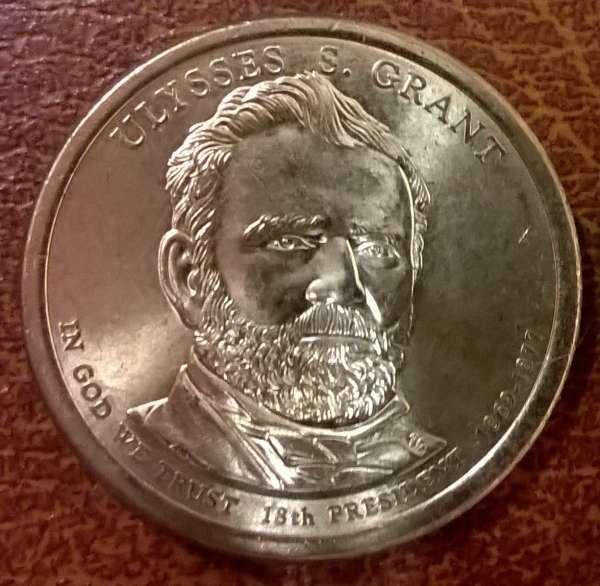 USA 1 Dollar 2011 P Ulysses S. Grant (18)