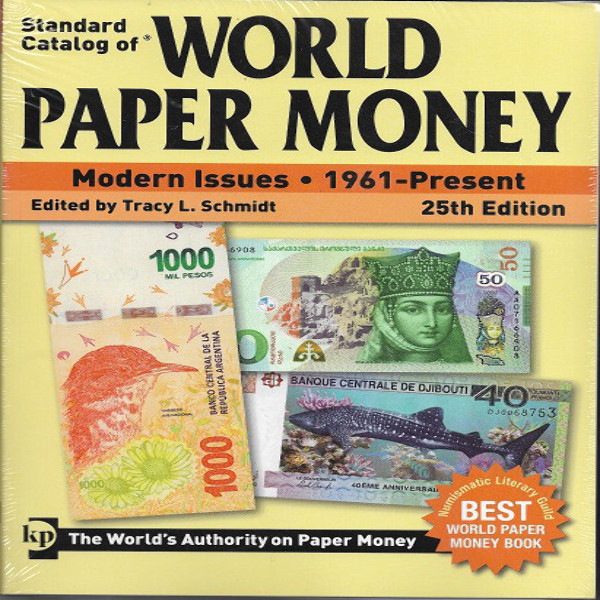Standard Catalog of World Paper Money 1961-Present 25 Edition