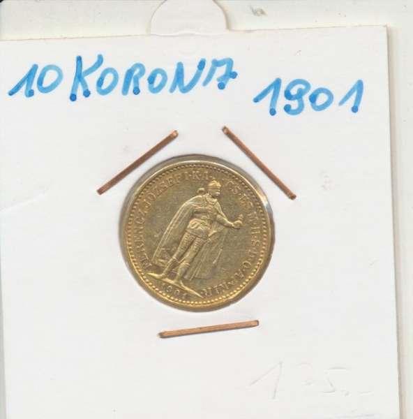 10 Korona 1901 KB Franz Joseph I Gold