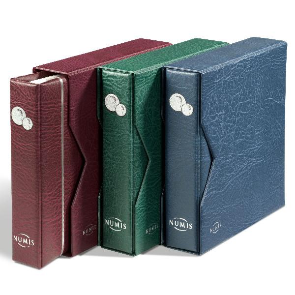 Münzenalbum NUMIS, inkl. Schutzkassette