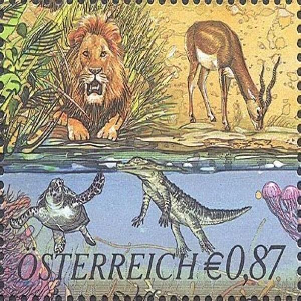 ANK 2417 250 Jahre Tiergarten Schönbrunn 0,87 €** 2002