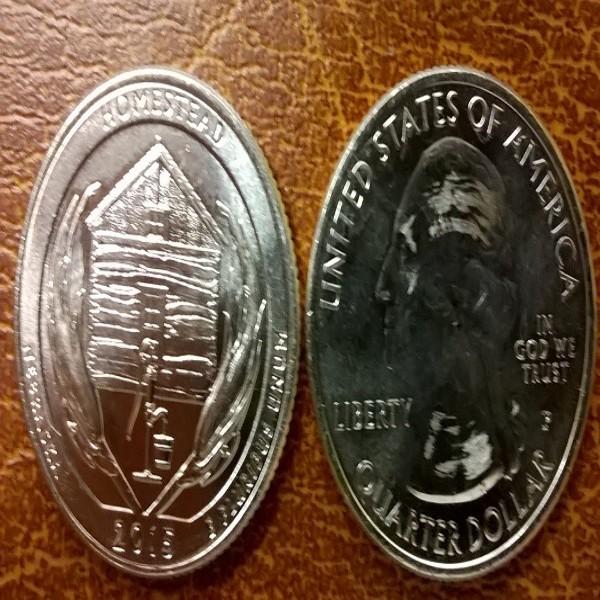 USA 25 Cent 2015 P Homestead (26)