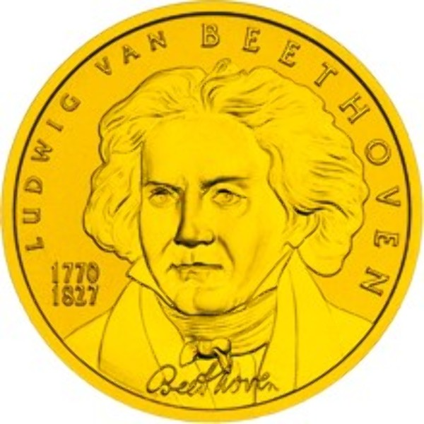 2005 - 50 Euro - Ludwig van Beethoven (2005)