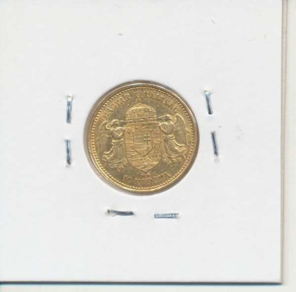 10 Korona 1904 KB Franz Joseph I Gold