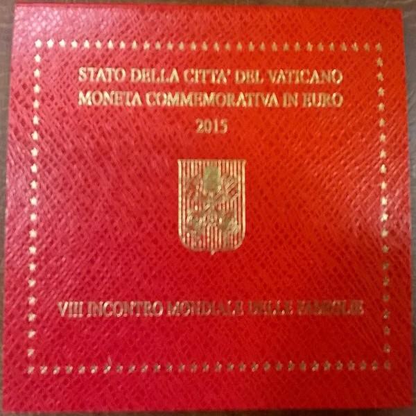 2 Euro Vatikan 2015 VIII. Weltfamilientreffen in PHILADELPHIA