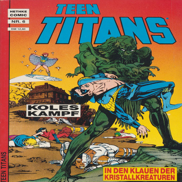 Teen Titans Hethke Comic Nr. 6