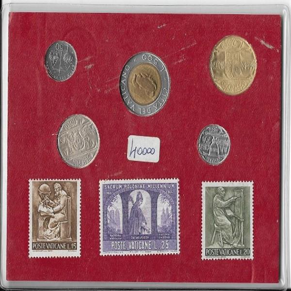 Souvenir Vaticano Original Vatican Stamps