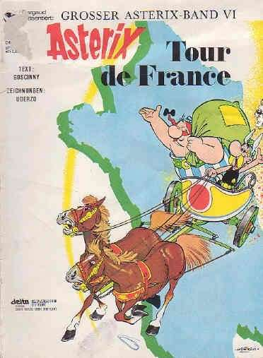 Asterix Nr 6 Asterix Tour de France