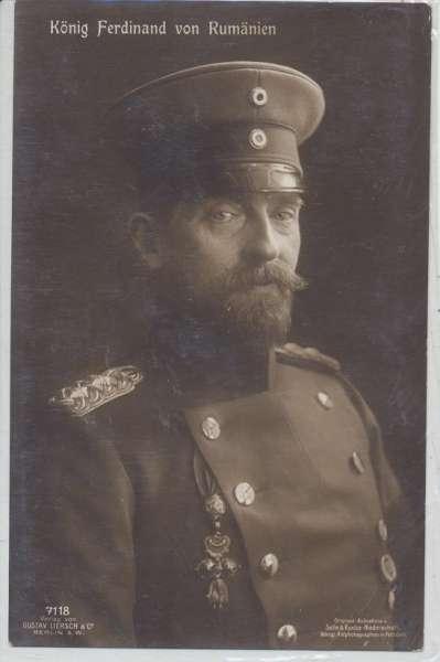 König Ferdinand von Rumänien
