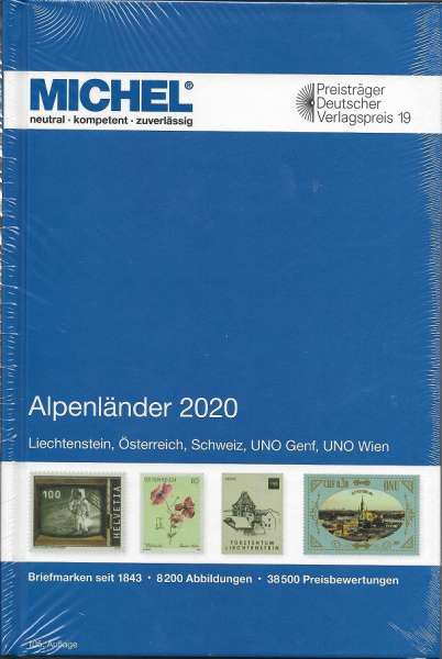 MICHEL Europa Alpenländer 2020 (E1)