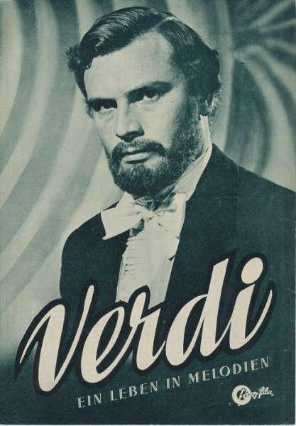 Verdi Ein Leben in Melodien Nr.2166 Illustrierter Film - Kurier