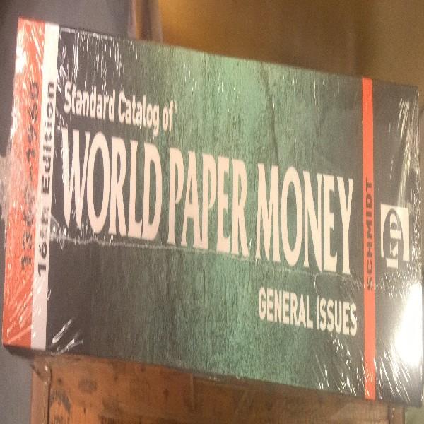 Standard Catalog of World Paper Money 1368-1960 16 th Edition 2017