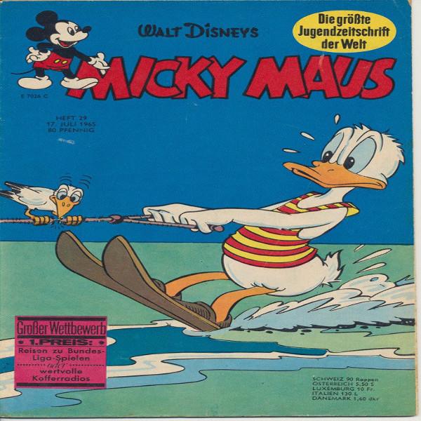 Micky Maus Nr. 29 /1965