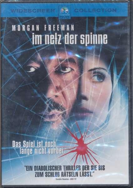 Im Netz der Spinne - Morgan Freeman & Monica Potter DVD NEU/OVP -